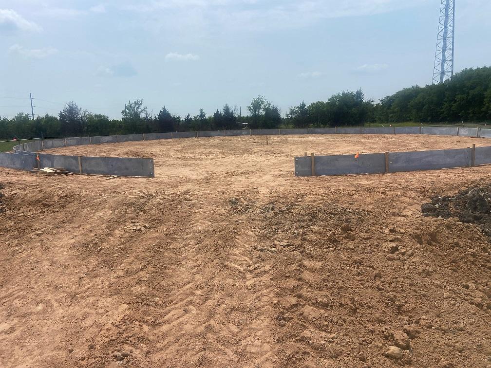Ground Storage Tank Progress